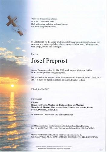 Josef Preprost