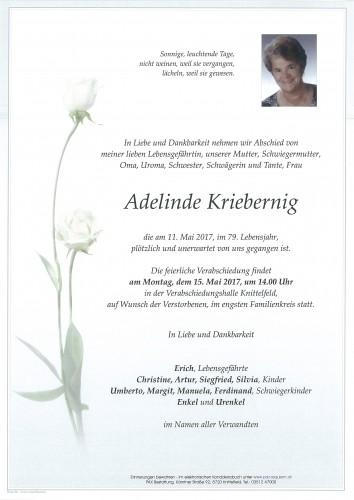 Adelinde Kriebernig
