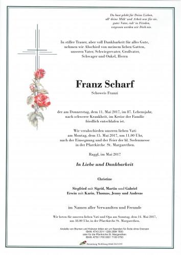 Franz Scharf