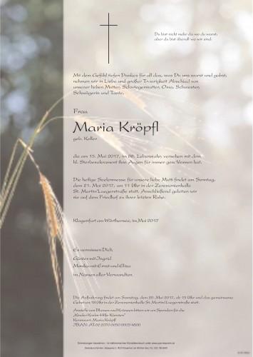 Maria Kröpfl