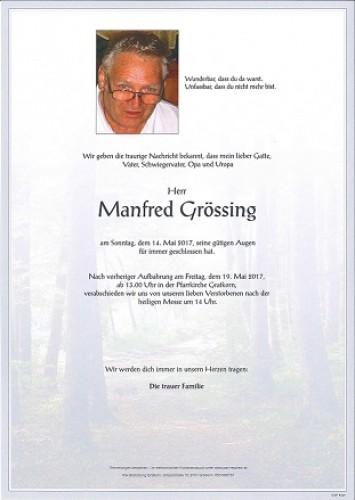 Manfred Grössing
