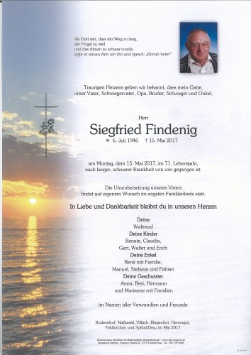 Siegfried Findenig