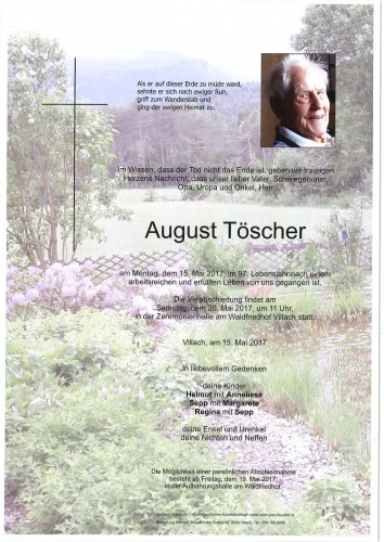 August Töscher