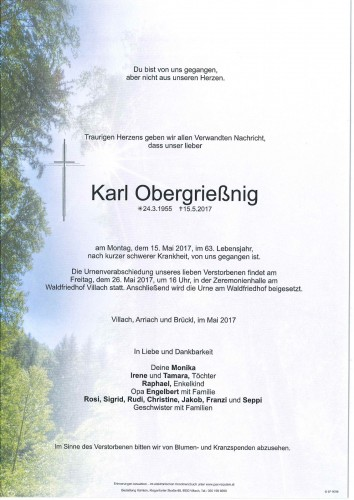 Karl Obergrießnig
