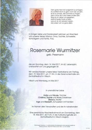 Rosemarie Wurmitzer