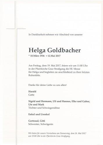 Helga Goldbacher