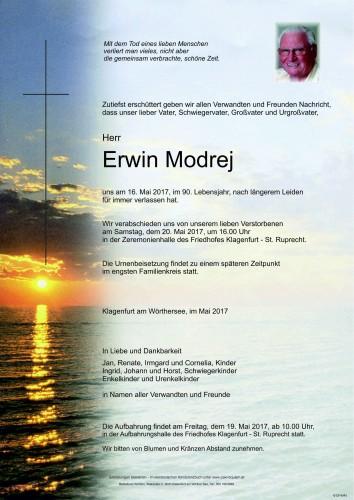 Erwin Modrej