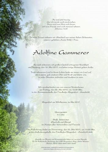 Adolfine Gammerer