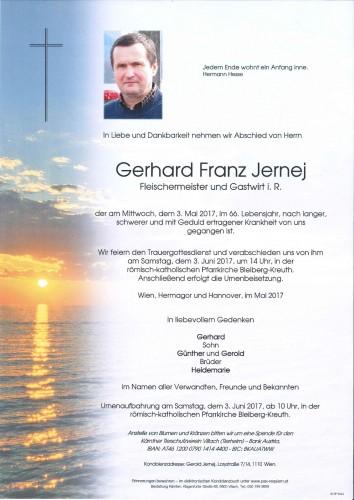 Gerhard Franz Jernej