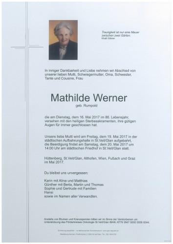 Mathilde Werner