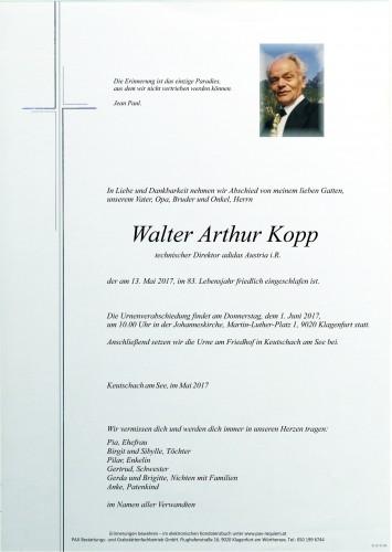 Walter Arthur Kopp