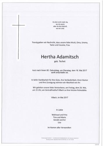 Hertha Adamitsch