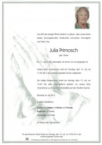Julia Primosch