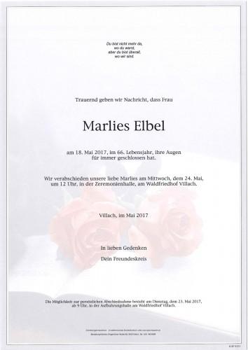 Marlies Elbel