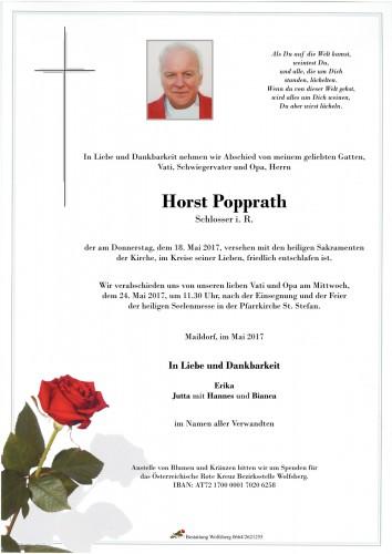 Horst Popprath