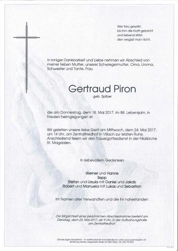 Gertraud Piron