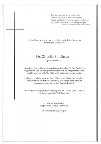 Iris Claudia Stadtmann