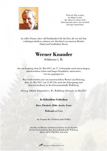 Werner Knauder