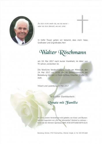 Walter Röschmann