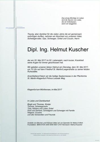 Dipl. Ing. Helmut Kuscher