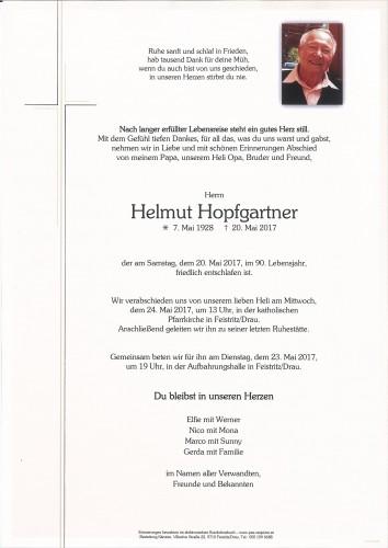Helmut Hopfgartner