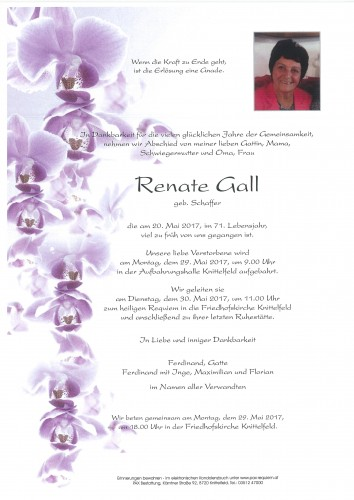 Renate Gall