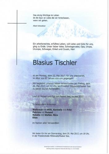 Blasius Tischler