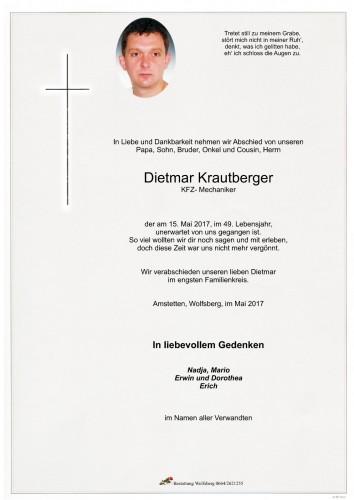 Dietmar Krautberger