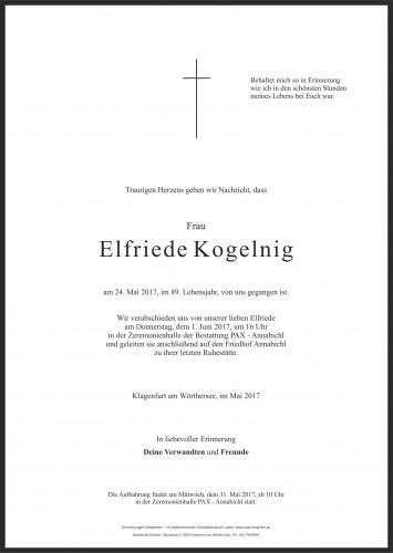 Elfriede Kogelnig