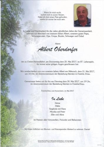 Albert Oberdorfer