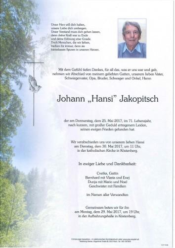 Hansi Jakopitsch