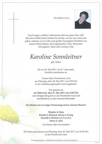 Karoline Sonnleitner