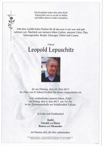 Leopold Lepuschitz