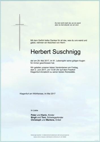 Herbert Suschnigg