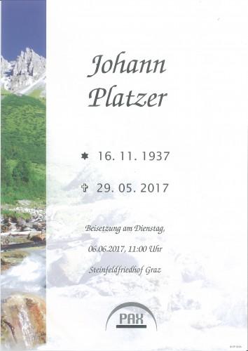 Johann Platzer