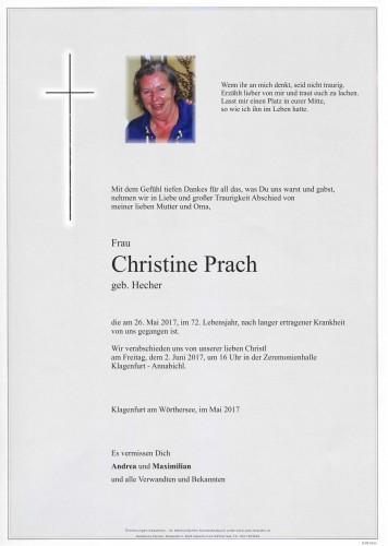 Christine Prach