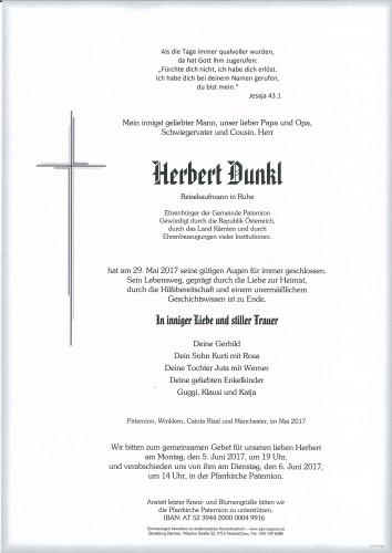 Herbert Dunkl