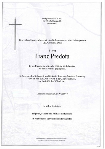 Franz Predota
