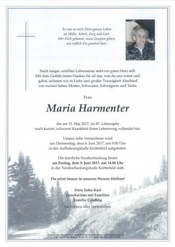 Maria Harmenter