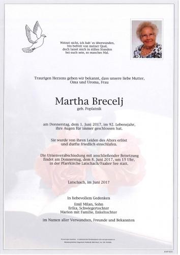 Martha Brecelj