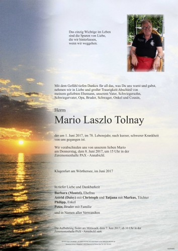 Mario Laszlo Tolnay