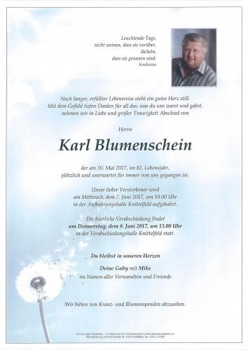 Karl Blumenschein