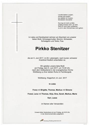 Pirkko Stenitzer