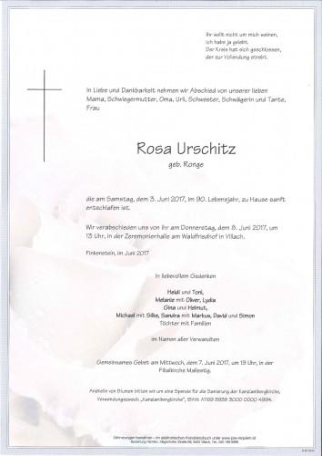 Rosa Urschitz