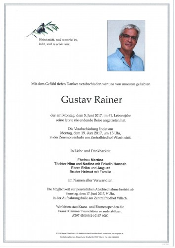 Gustav Rainer