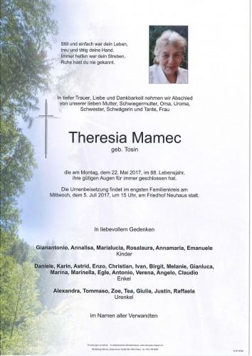 Theresia Mamec