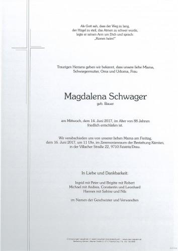 Magdalena Schwager