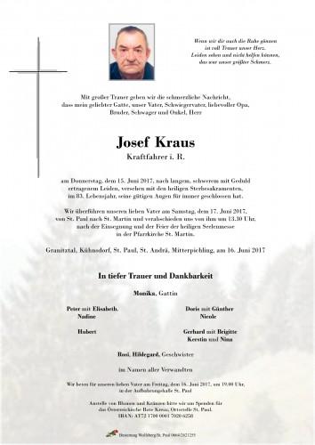 Josef Kraus