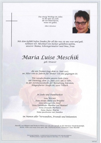 Maria Luise Meschik