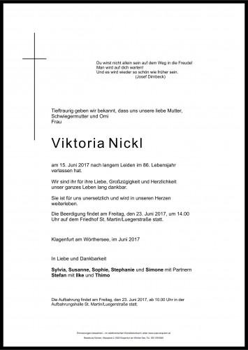 Viktoria Nickl